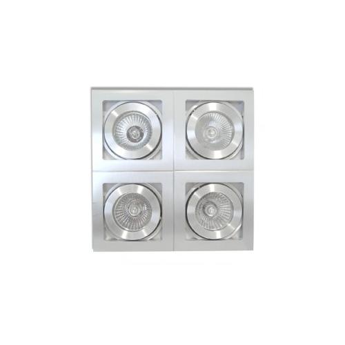 CLE Kardan LED  /  Halogen Einbauleuchte YK4 ALUTEC QANA max. 4x 50W 12V