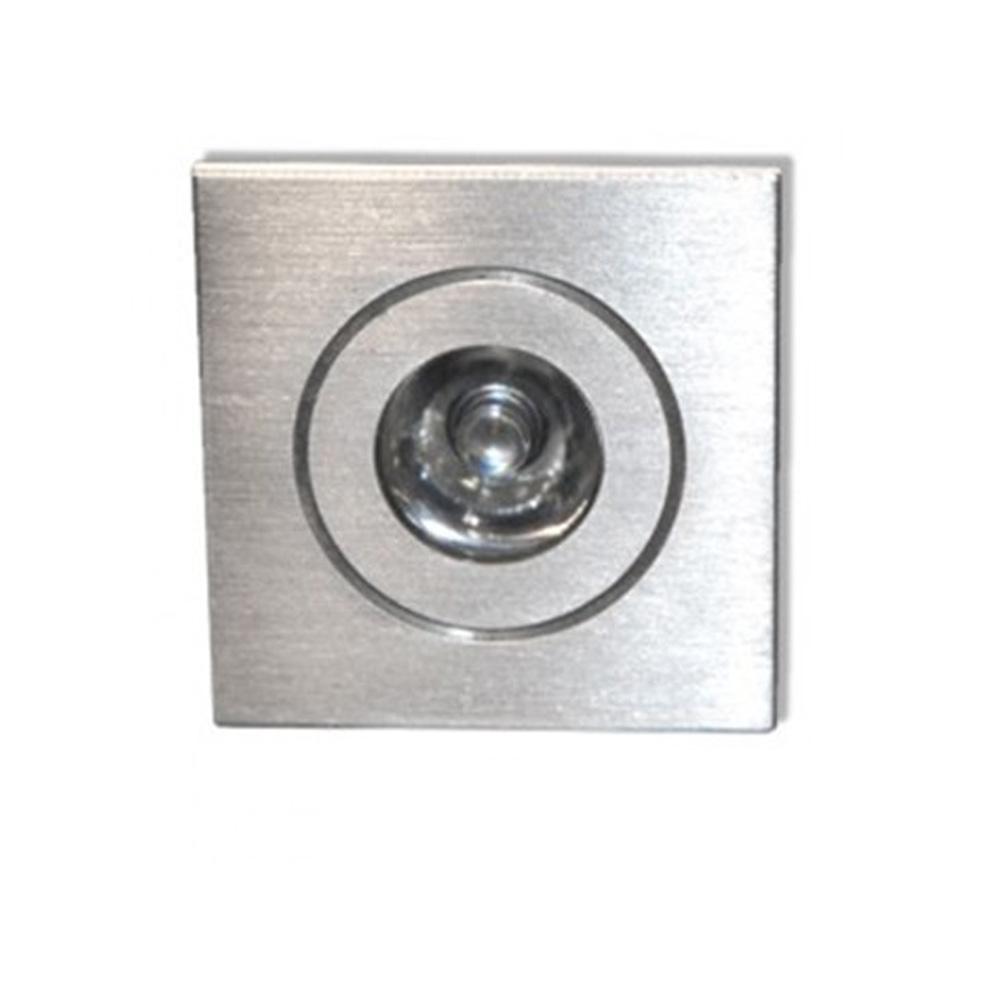 CLE LED Einbauleuchte D-LED 06 ALUTEC 1W