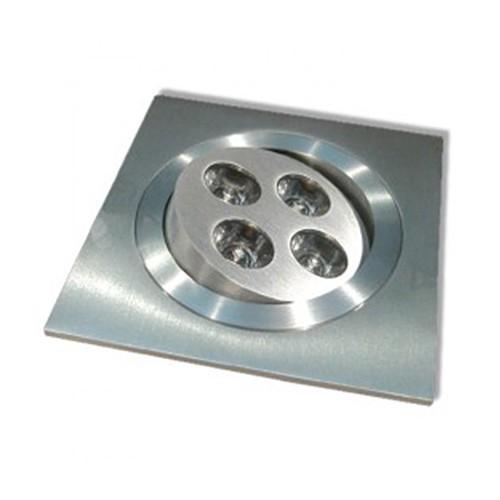 CLE LED Einbauleuchte D-LED 11 ALUTEC Modul 4x 1W