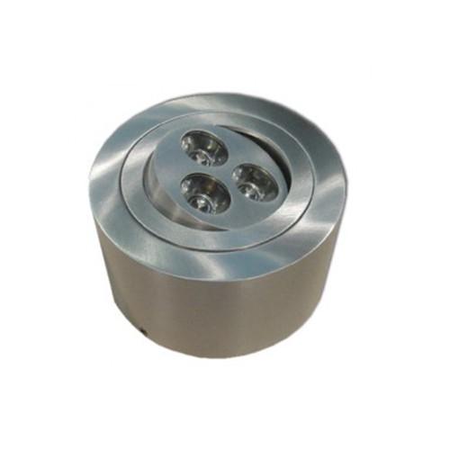 CLE LED Aufbauleuchte C-LED 06 ALUTEC 3x 1W 230V
