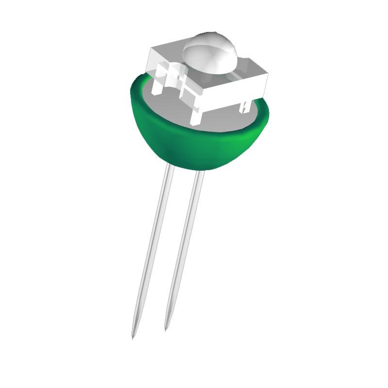 G4 STIFTSOCKEL CLE LED Pille 0,36W 12V grün