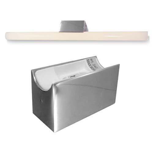 ALUTEC Spiegelleuchte für Linestra Linienlampe - LED - max. 35/60W - Chrom