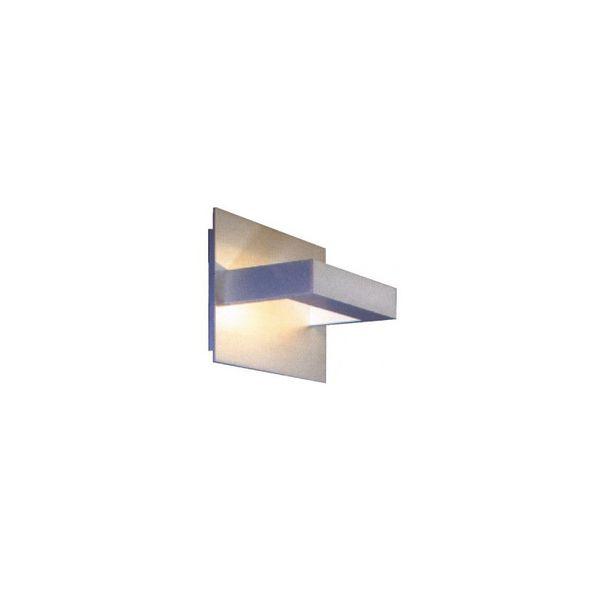 CLE LED / Halogen Wandleuchte RIO-Midi max. 100W 230V alu grau