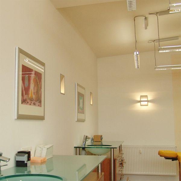Gaga Lamp Design Wandleuchte RIO-Maxi 100W 230V alu grau Bild 5
