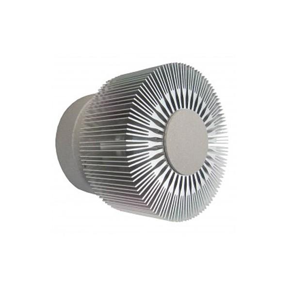 Gaga Lamp Design ALUTEC Wandleuchte King Cross small 25W 230V alu grau Bild 3