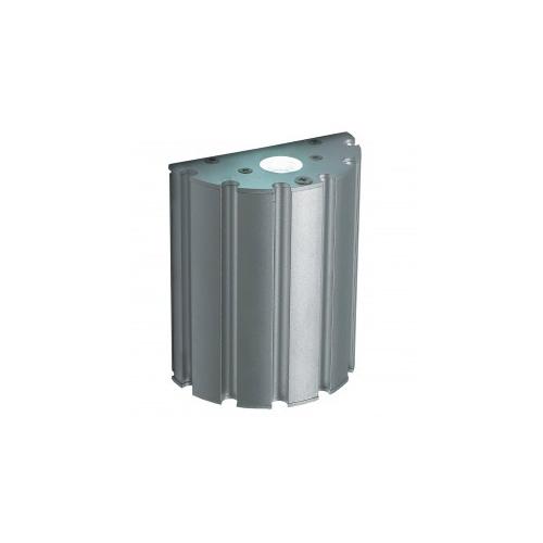 CLE ALUTEC LED Wandleuchte 1W 230V silber grau