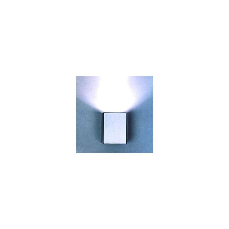 CLE ALUTEC Halogen / LED Wandleuchte Box 1 50W 230V silber