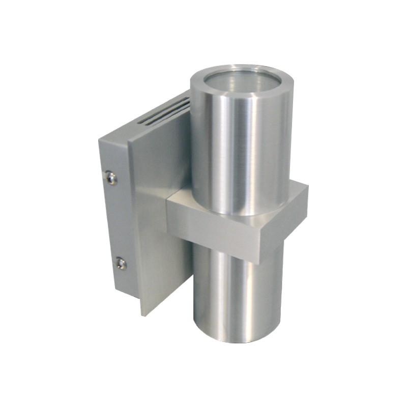 CLE Halogen / LED Wandleuchte ALUTEC max. 2x 40W 230V alu