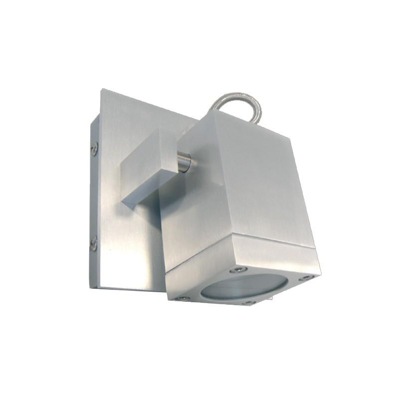 CLE Halogen / LED Wandleuchte ALUTEC schwenkbar max. 40W 230V alu