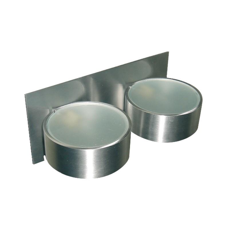 CLE Halogen / LED Wandleuchte ALUTEC max. 2x 25W G9 230V alu