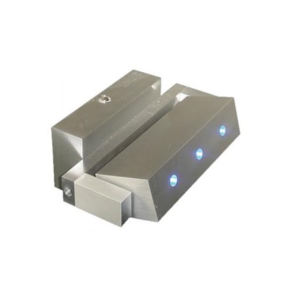 CLE LED Wandleuchte ALUTEC 3xLED 230V alu blau