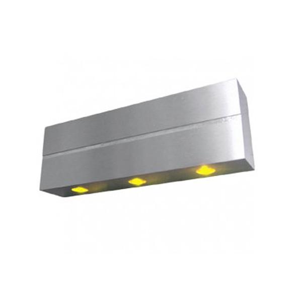 CLE LED Wandleuchte ALUTEC 3xLED 230V alu gelb
