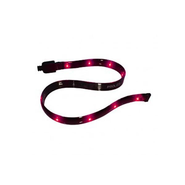 CLE LED Lichtleiste Stripe flexibel 12V rot - 2mm flach, 300mm Länge
