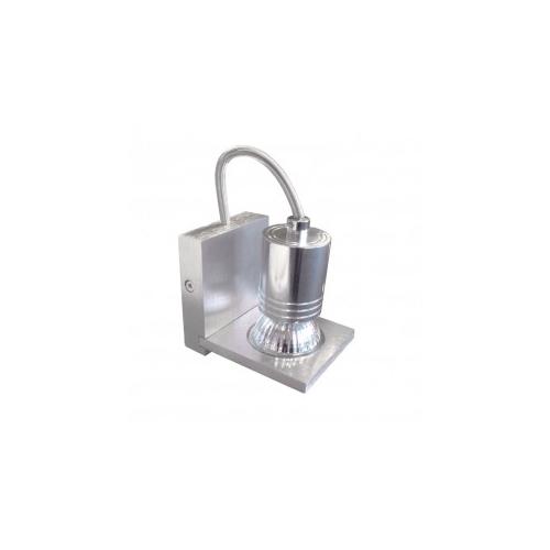 CLE ALUTEC Halogen / LED Wandleuchte max. 50W 230V alu