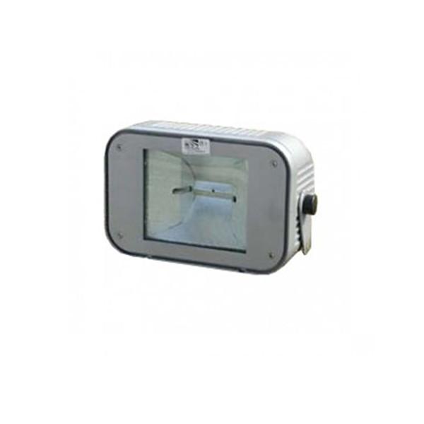 CLE Flutlichtstrahler Aussenscheinwerfer HQI-TS CDM-TD 150W 230V alu grau inkl. Vorschaltgerät