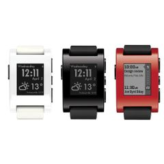 Pebble Smartwatch 301 für iPhone and Android - VARIANTE – Bild 1