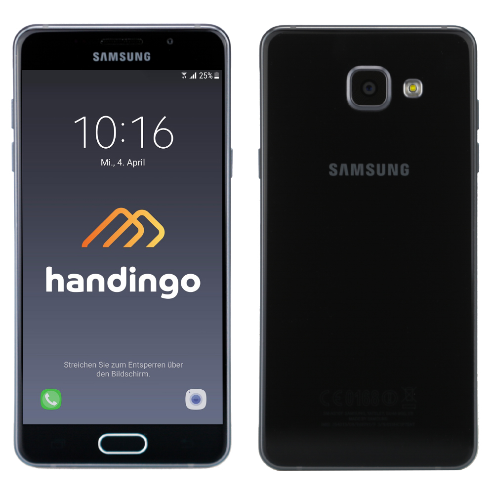 samsung galaxy a5 2016 a510f lte android smartphone. Black Bedroom Furniture Sets. Home Design Ideas