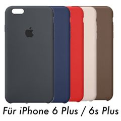 Apple iPhone 6 Plus / 6s Plus Leder Case Hülle - VARIANTE – Bild 1