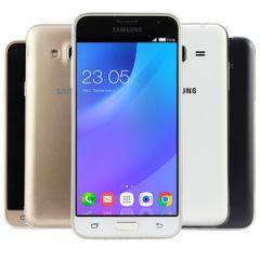 Samsung Galaxy J3 2016 Dual SM J320FN DS 8GB Smartphone Weiss Akzeptabel