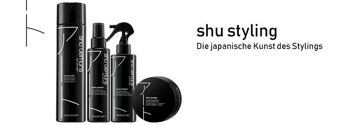 Shu Uemura Styling Produkte