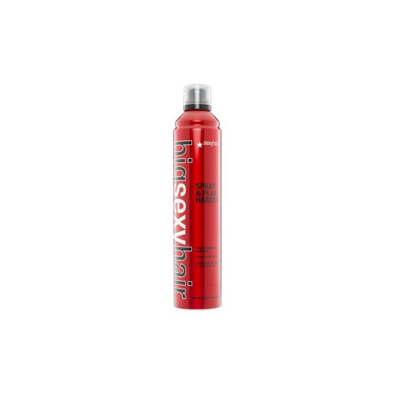 Sexyhair Big Spray & Play Harder Firm Volumizing Hairspray 300ml