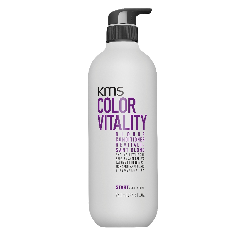 KMS Colorvitality Blonde Conditioner 750 ml incl. Pumpe