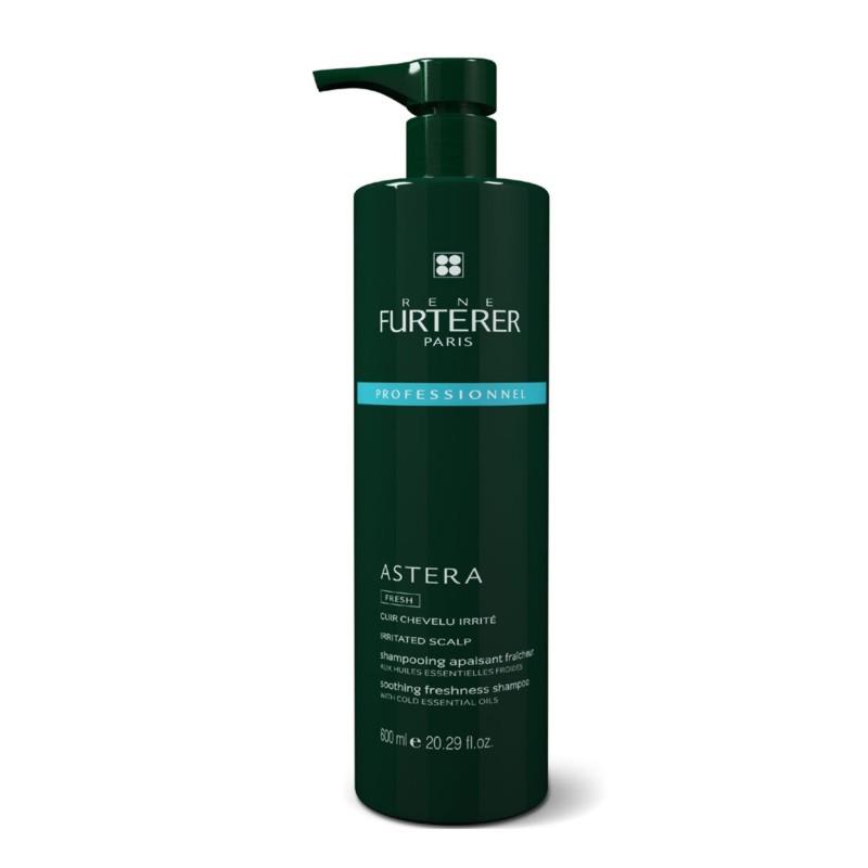 Rene Furterer Astera Fresh Beruhigendes Shampoo 600 ml incl. Pumpe