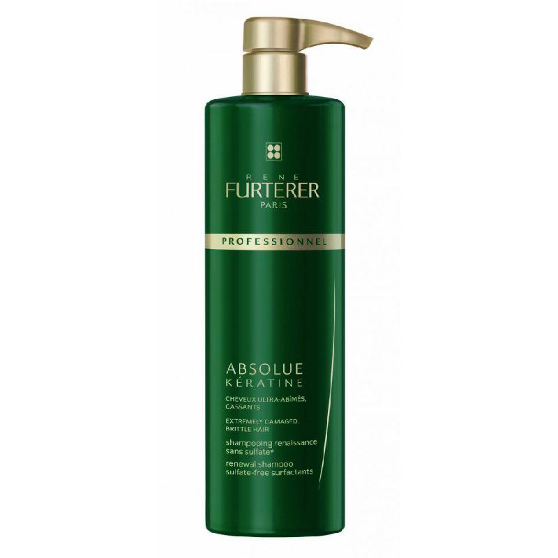 Rene Furterer Absolue Keratine Shampoo 600 ml incl. Pumpe