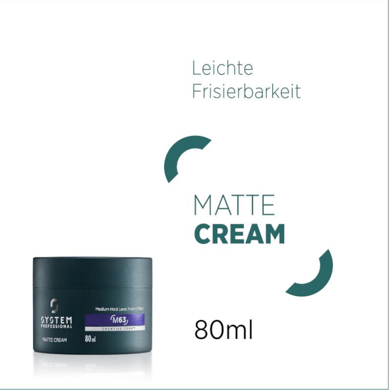 System Professional LipidCode Man Matte Cream 80 ml