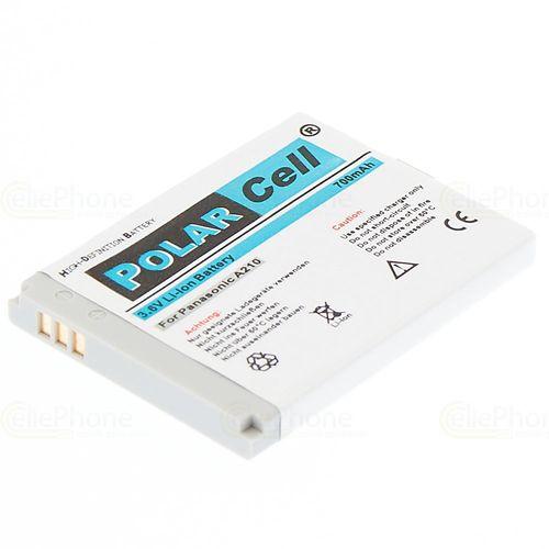 cellePhone PolarCell Akku Li-Ion kompatibel mit Panasonic A210 SC3