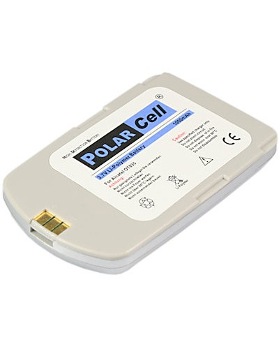 cellePhone PolarCell Akku Li-Polymer kompatibel mit Alcatel OT835 - silber