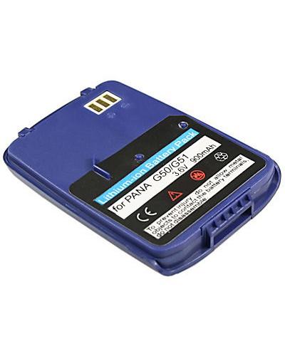 cellePhone Akku Li-Ion kompatibel mit Panasonic G50 G51 G51e G51m - blau (Ersatz für EB-BSG50S)