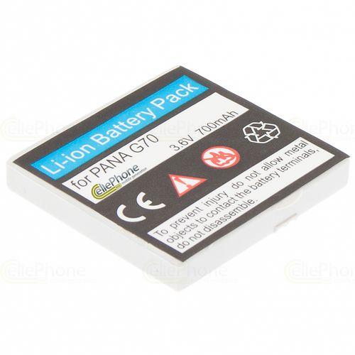 cellePhone Akku Li-Ion kompatibel mit Panasonic G70 (Ersatz für EB-BSG70)