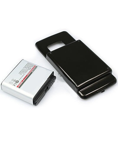 cellePhone Battery Li-Ion for Nokia N81 extended - black (replaced BP-6MT) - 2000 mAh