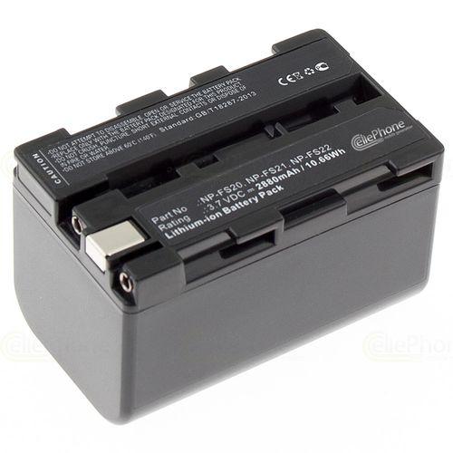 cellePhone Akku Li-Ion kompatibel zu Sony NP-FS21