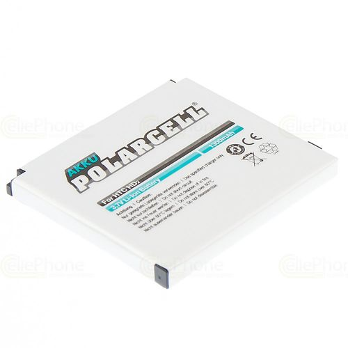cellePhone PolarCell battery Li-Ion for HTC HD2 Leo (replaced BA S400)