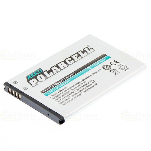 cellePhone PolarCell Akku Li-Ion kompatibel mit HTC 7 Mozart / Desire Z / T-Mobile G2 (Ersatz für BA S450)