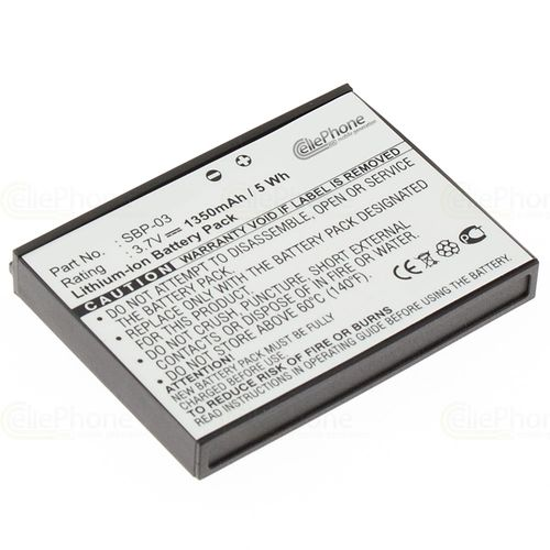 cellePhone Battery Li-Ion for Asus MyPal A630 / A632 / A636 / A639 (replaced SBP-03)