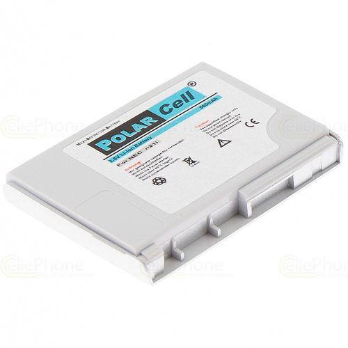 cellePhone PolarCell Akku Li-Ion kompatibel mit Nec n21i / N21 - silber