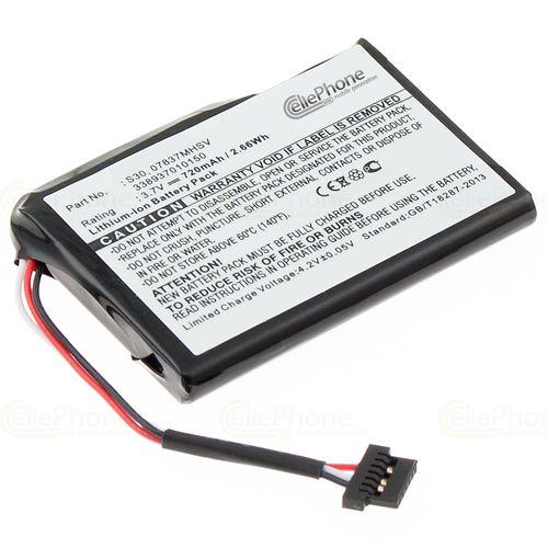 cellePhone Battery Li-Ion for Becker Traffic Assist Z200 / Z201 / Z203 / Z204 / Z205 / Pro Z250 Ferrari Edition (replaced 07837MHSV)