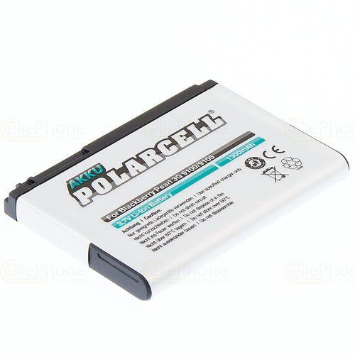 cellePhone PolarCell Akku Li-Ion kompatibel mit Blackberry Pearl 3G 9100 9105 (Ersatz für F-M1)
