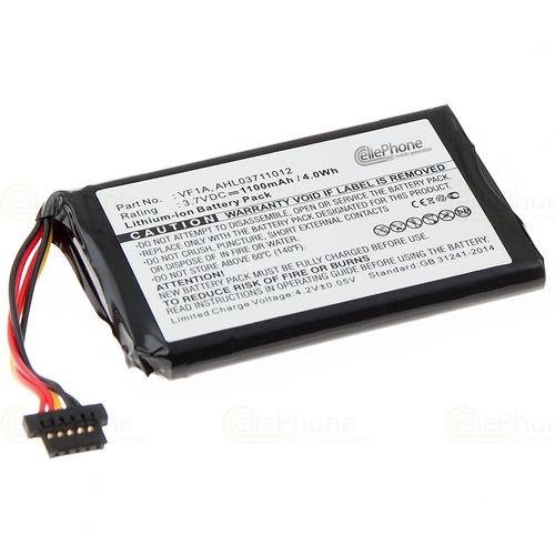 cellePhone Battery Li-Ion for TomTom Go 740 / 740TM / 750 / 750 Live (replaced AHL03711012)