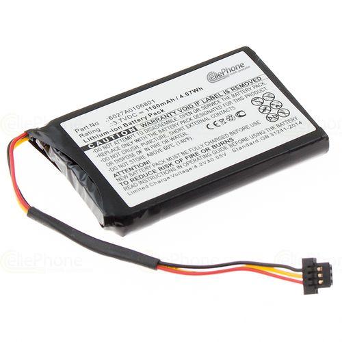 cellePhone Akku Li-Ion kompatibel mit TomTom XL IQ / XL2 V4 / 4ET03 (Ersatz für 6027A0106801)