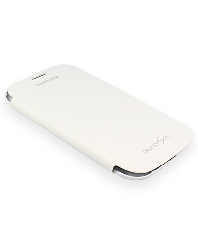 Original Samsung Galaxy S3 (GT-I9300) flip cover (EFC-1G6FWECSTD) - White