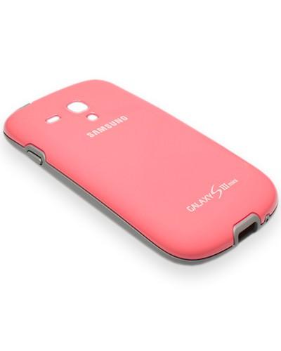 Original Samsung Galaxy S3 mini (GT-I8190 / GT-I8200) Protective Cover+ (EFC-1M7BPEGSTD) - pink