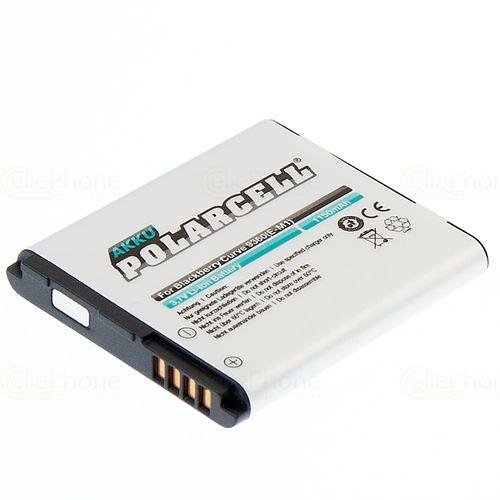 cellePhone PolarCell Akku Li-Ion kompatibel mit Blackberry Curve 9360 (Ersatz für E-M1)