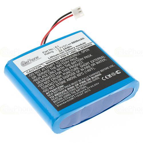 cellePhone Battery Li-Ion for Pure EVOKE Flow / Mio / 1S / 2S / Sensia / Verona (replaced ChargePAK E1)
