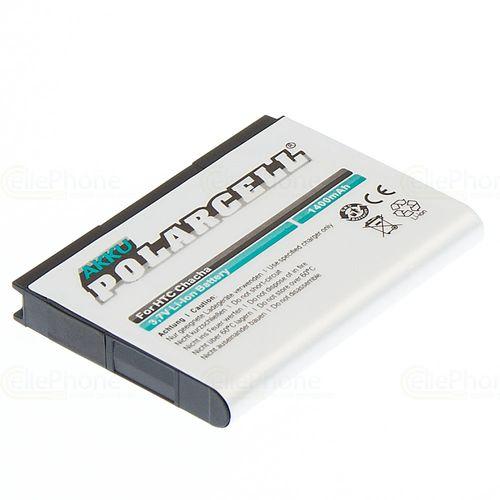 cellePhone PolarCell Akku Li-Ion kompatibel mit HTC ChaCha / A810 / A810E / PH06130 / Status Google G16 (Ersatz für BA S570)
