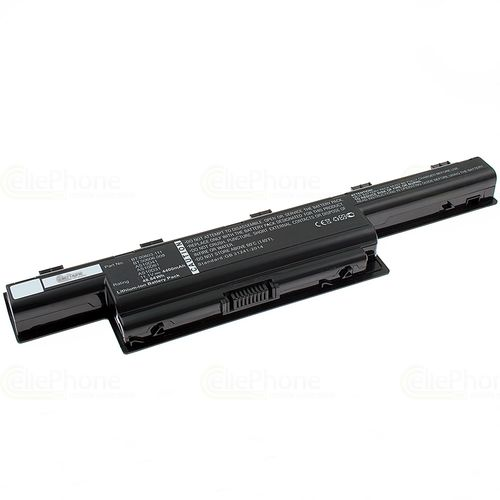 cellePhone Battery Li-Ion compatible with Acer 31CR19/652 / AS10D81 / BT.00607.130 / LC.BTP00.123 - black - 4400 mAh