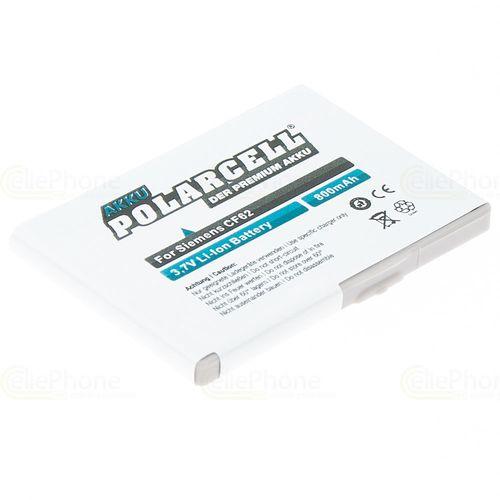 cellePhone PolarCell Akku Li-Ion kompatibel mit Siemens CF62 / AX72 AX75 C65 C65V C70 C75 CF65 CFX65 CF75 (Ersatz für V30145-K1310-X289)